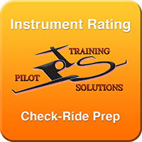 Instrument Rating Check-Ride Prep