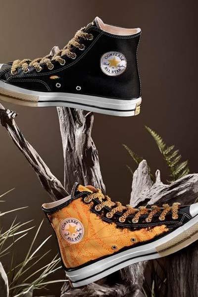 Converse x Dr Woo sneakers noir