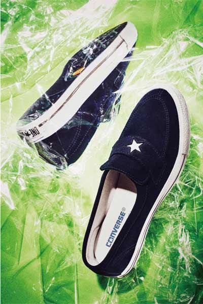 Converse x Nigo x N.Hoolywood One star bleu marine