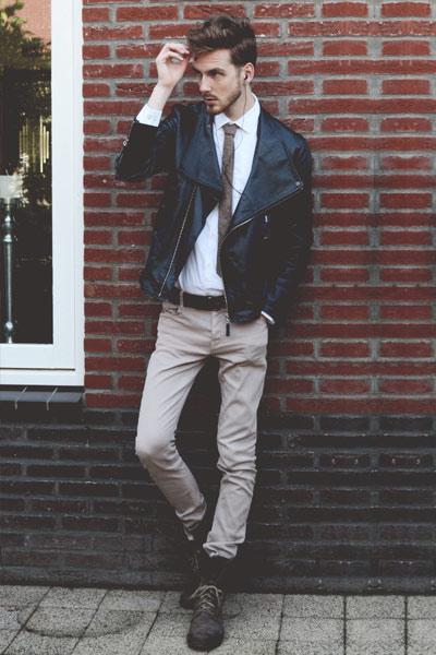 tenue casual perfecto homme