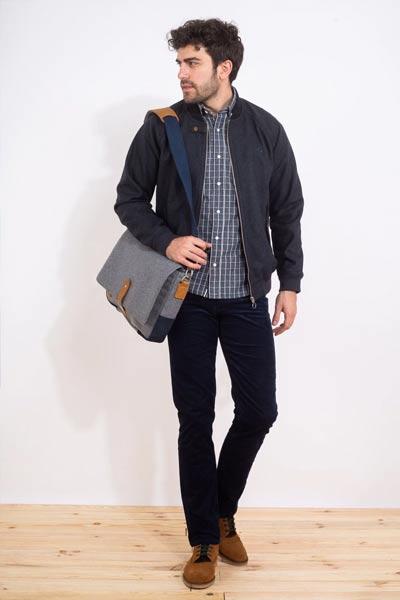 choisir un manteau homme, blouson en laine Faguo