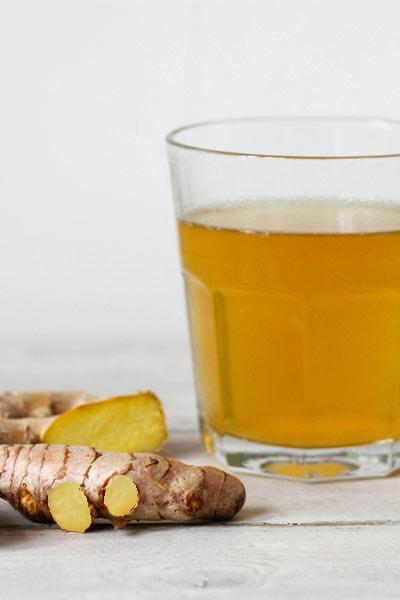 infusion de gingembre contre les vomissements, gastro