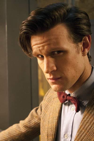 Matt smith docteur who noeud papillon