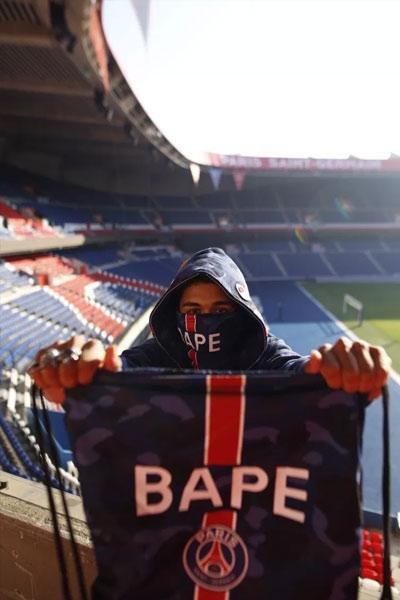 sac BAPE x PSG