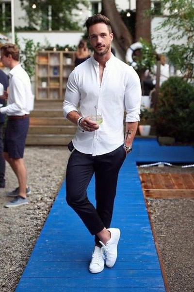 chemise cintrée slim homme