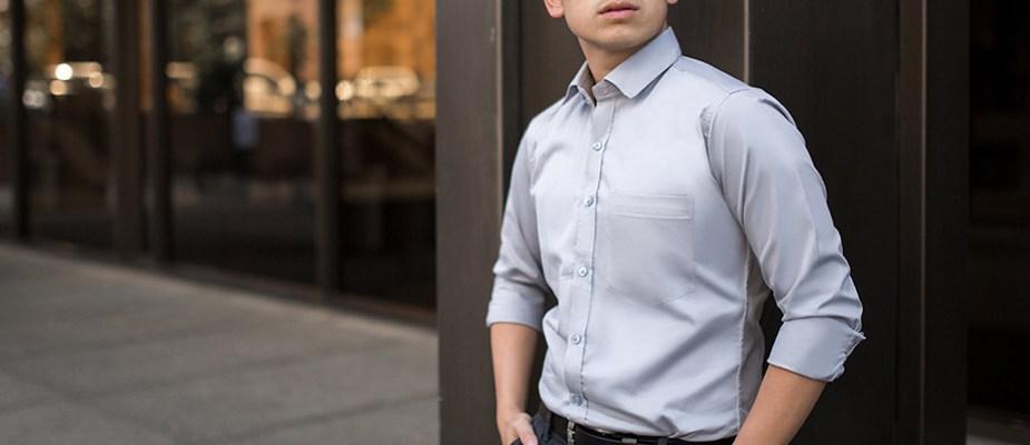 chemise à la bonne taille homme
