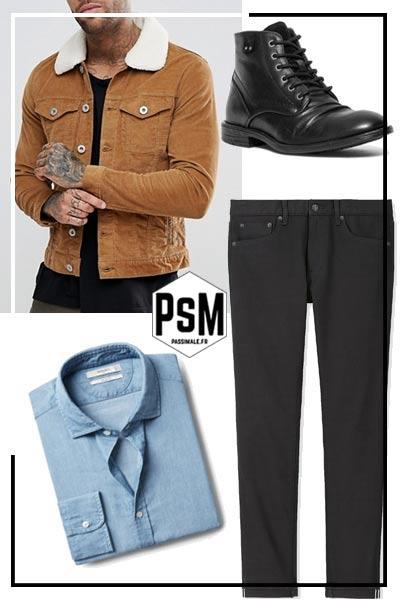 65358992d3011 Quoi mettre avec un pantalon noir pour homme   – Pas si Male