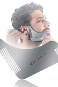 guide pochoir pour barbe