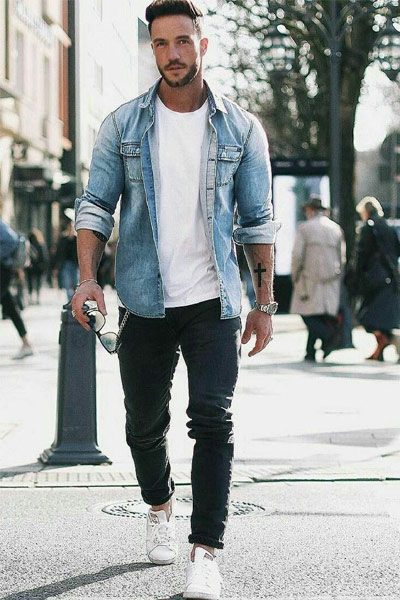 look casual homme