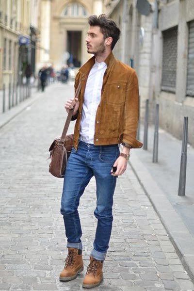 look casual avec des timberland homme