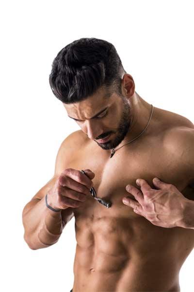 épilation masculine
