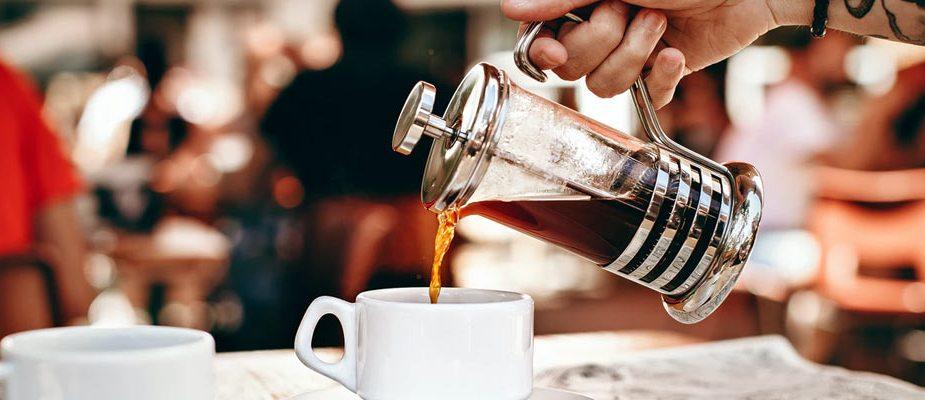 faire un café avec un cafetière à piston