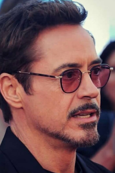 robert downey jr barbe à la balbo