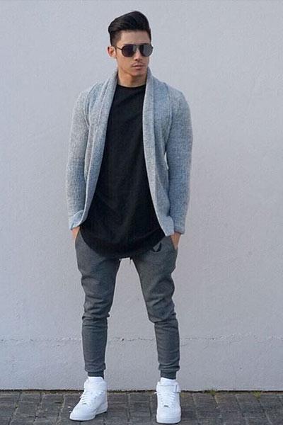 tenue sportswear homme