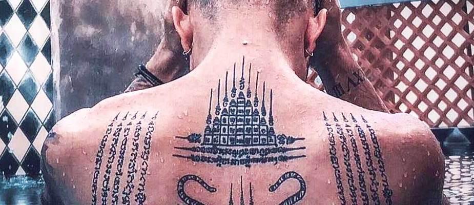 tatouage sacré sak yant