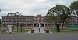 帯広畜産大学の外観写真