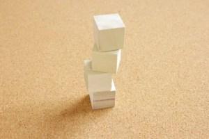 不安定なブロック