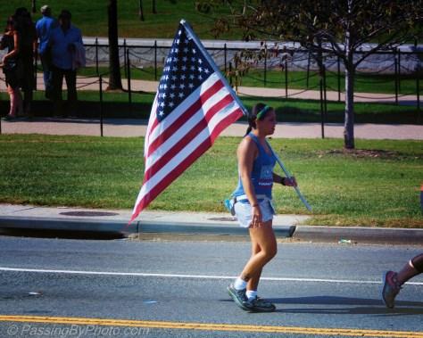 42nd Marine Corp Marathon Participant