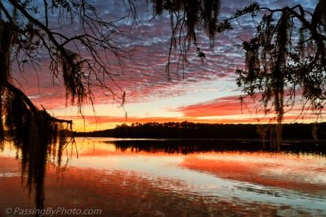 Sunrise Over Mary's Pond