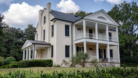 Rose Hill Plantation, Back