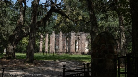 Old Sheldon Church Ruins