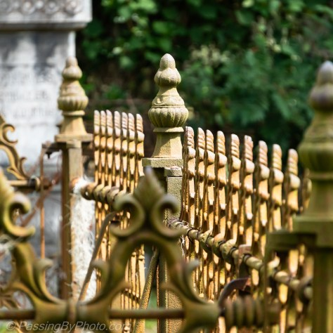 Cemetery Fence