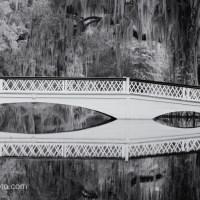 Silent Sunday: Long White Bridge B&W
