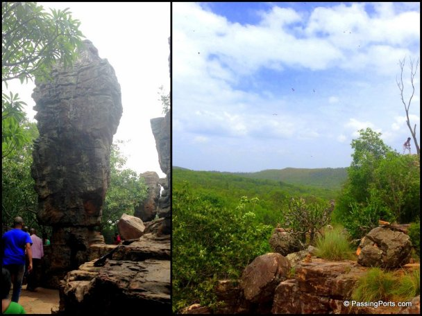 Views from Tirumala Temple