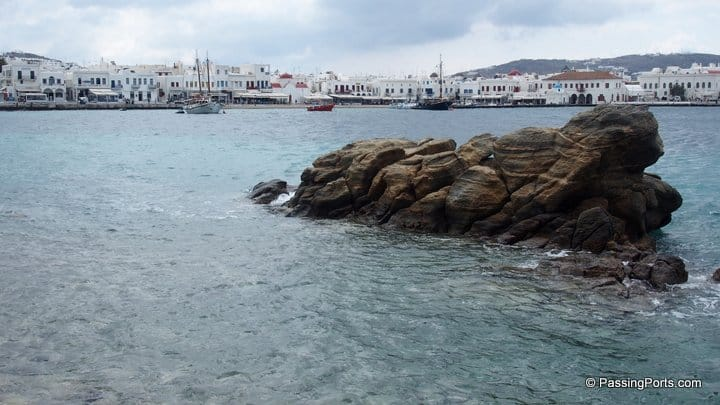 Chora Beach in Mykonos