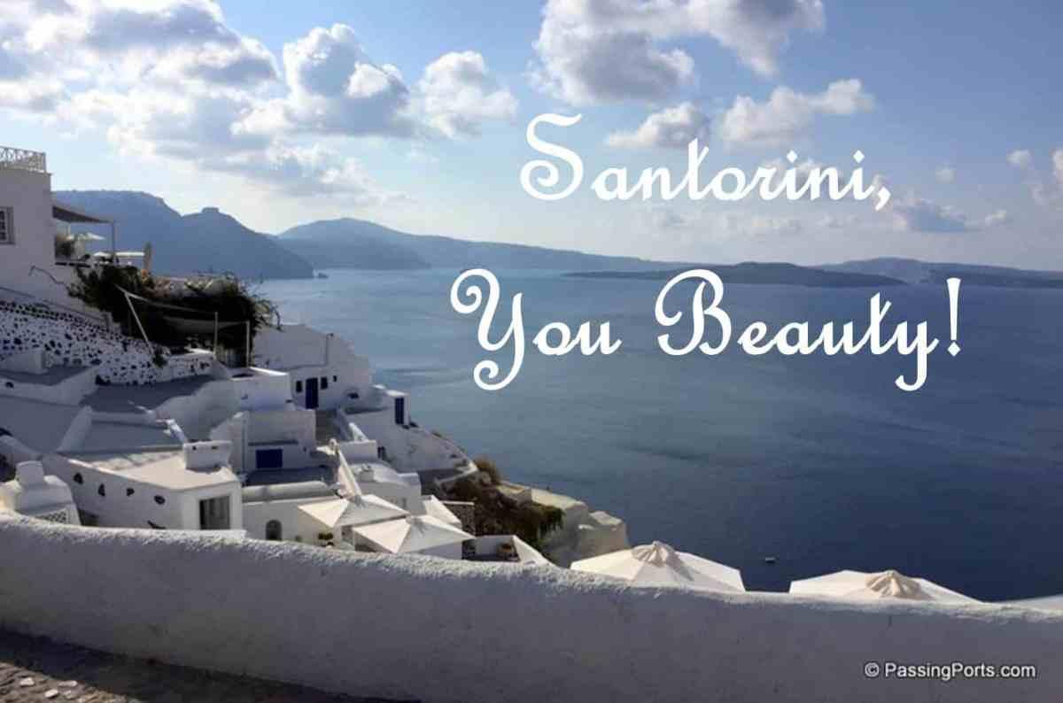 Santorini - Commercial yet Beautiful