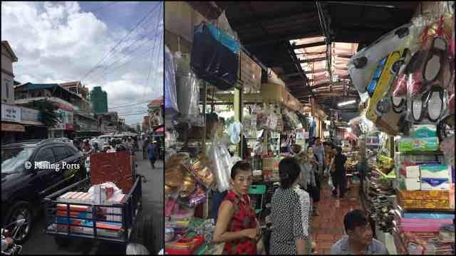Russian Market in Phnom Penh