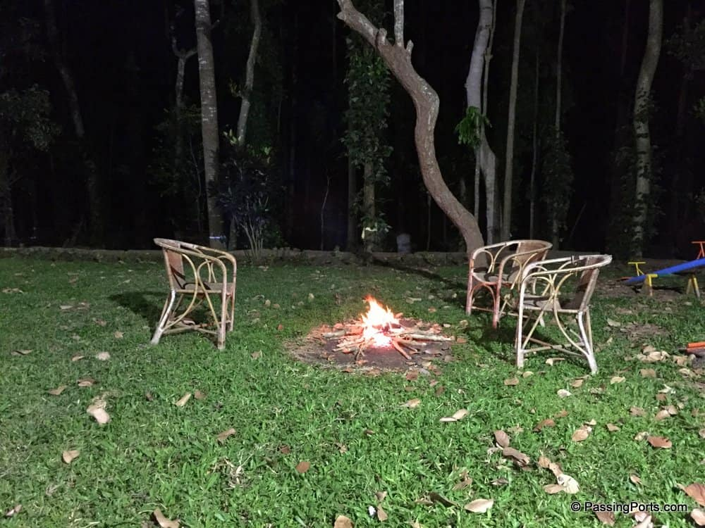 Bonfire in Yercaud