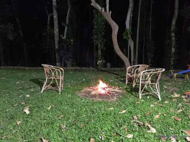Bonfire in Yercaud