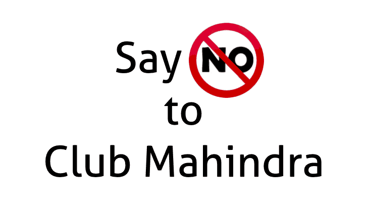 Problems with Club Mahindra Resorts