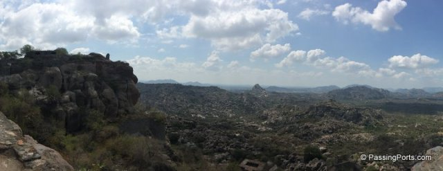 Views from Gingee Fort