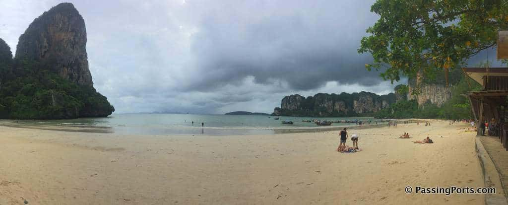 Beautiful Railay Beach in Krabi