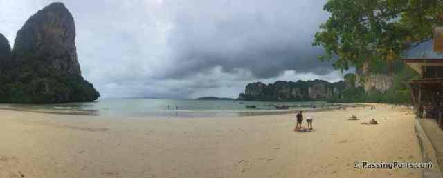Beautiful Railay Beach in Krabi