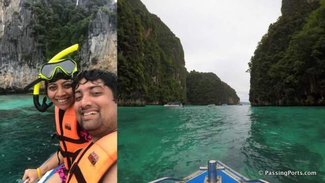 Snorkeling in Phi Phi