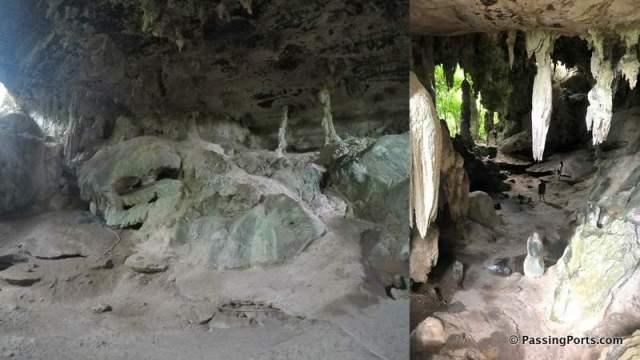Human Skull in Caves