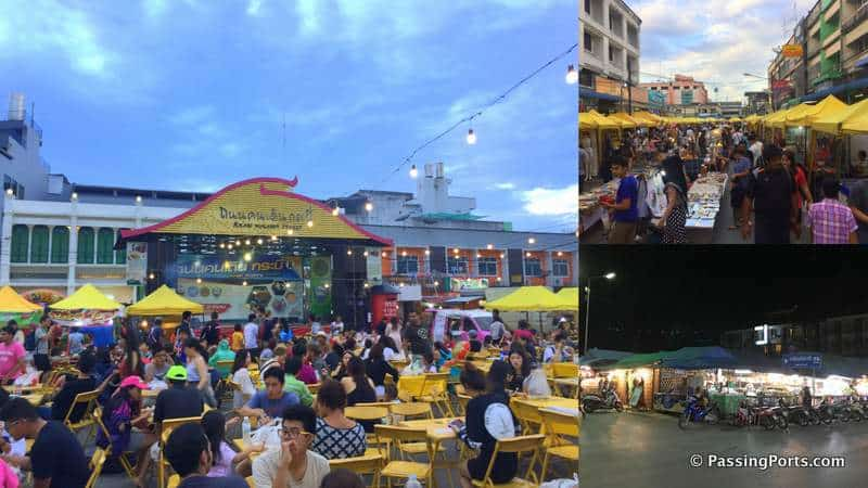 Food street in Krabi
