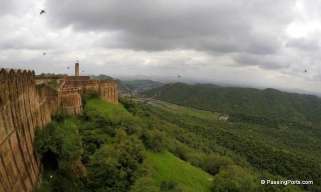 Aravills Hill view from Jaigarh Fort