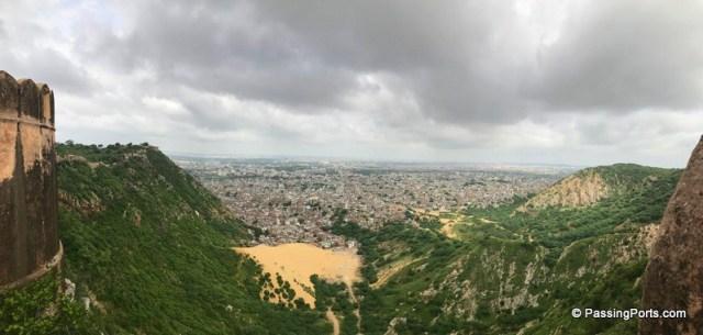 Pan view of Jaipur