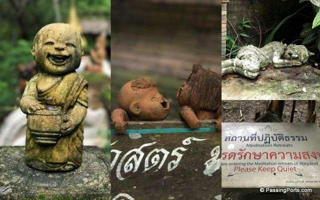 Retreat in Wat Pha Lat in Chiang Mai