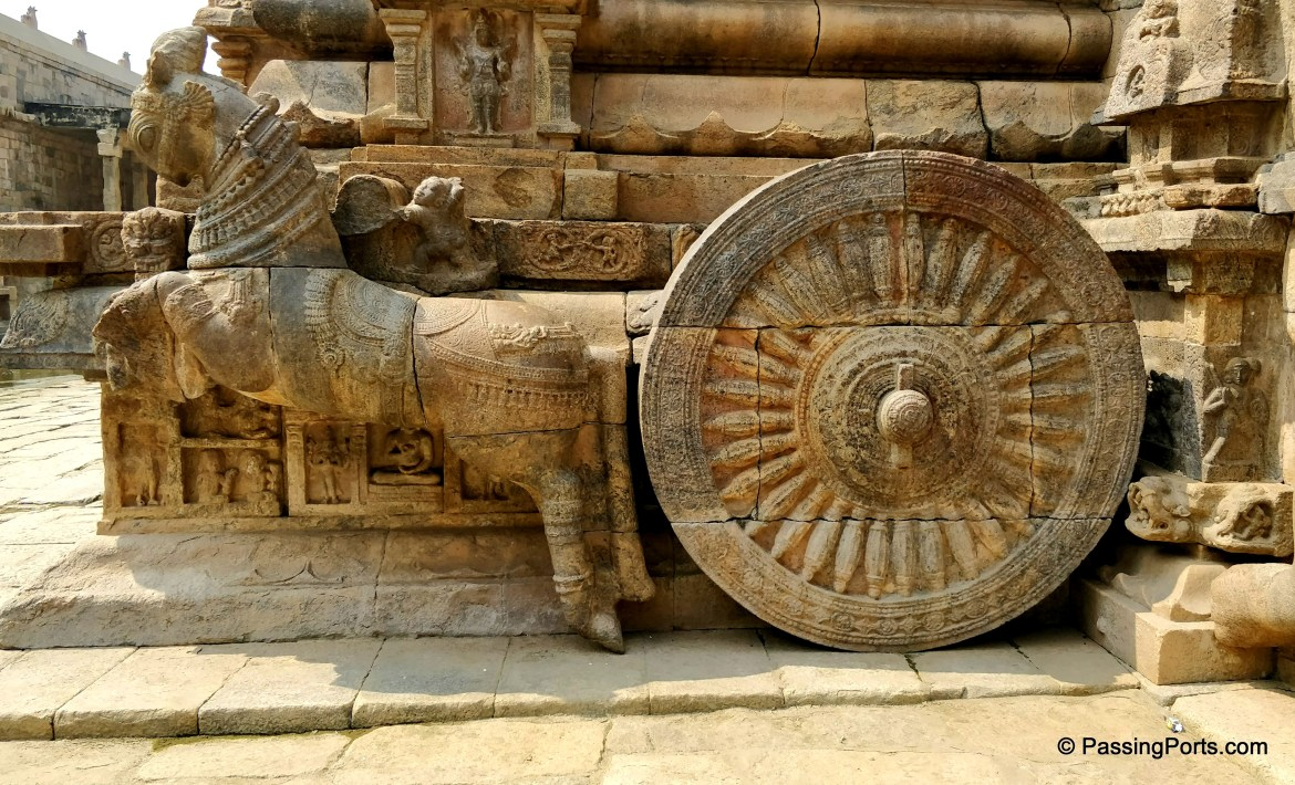Chariot in Darasuram Temple