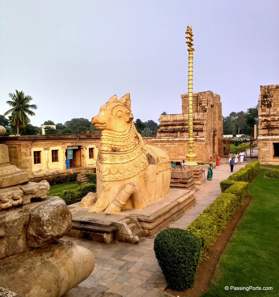 A different and huge Nandi in Tamil Nadu