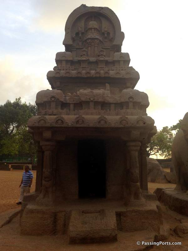 Five Rathas built by Pallava Dynasty