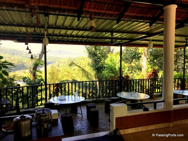 Restaurant at Bynekaadu Homestay in Chikmagalur