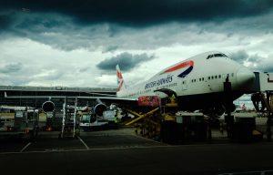 British Airways Airbus non-reclining seats