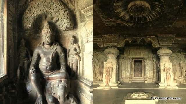 Jain Temples inside Ellora Caves