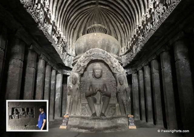 Buddhist caves in Ellora